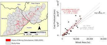 Lutz Florida Map by The Environmental Price Tag On A Ton Of Mountaintop Removal Coal