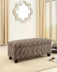 Animal Print Furniture by Animal Print Ottoman View In Gallery Focal Point Ottoman