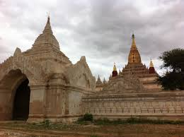 the historic temples of bagan in burma myanmar