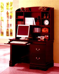 louis philippe youth desk and hutch in cherry finish by coaster