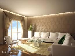 Living Room With Wallpaper Nakicphotography - Living room wallpaper design
