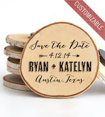 custom save the dates custom save the date magnet set inactive wedding pixels wood