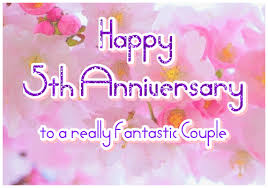 happy 5th anniversary wedding anniversary ecards greetingshare