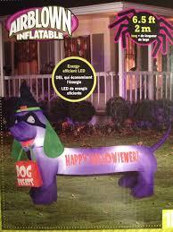 amazon com halloween inflatable happy hallowiener 6 5 feet