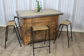 large vintage industrial pine kitchen island work bench