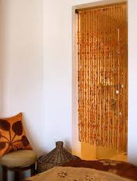 Room Divider Beads Curtain - descending amber bead curtain memories of a butterfly