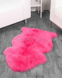 Faux Fur Sheepskin Rug Pink Fur Rug Roselawnlutheran