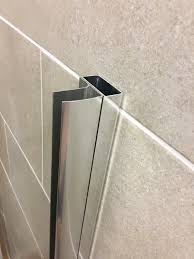 shower door spacer high quality fast fit shower spacer and extension coram