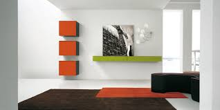 modern wall cool floating wall units on apartments design ideas with