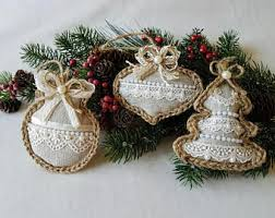 burlap tree ornaments rainforest islands ferry