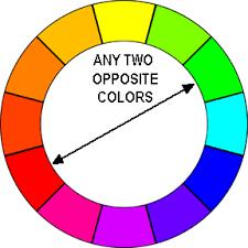 opposite colours color schemes