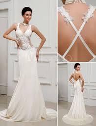 milanoo robe de mari e vestido de noiva marfim linha a em organza bordados e apliques