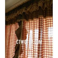 Country Plaid Valances Princess Country Cotton Red Beige And Sage Green Plaid Curtains