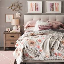 Pink Bed Frames Blushing Pink Bedroom Collection Target
