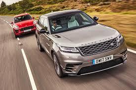 range rover velar vs sport range rover velar vs porsche macan gts 2017 twin test review by