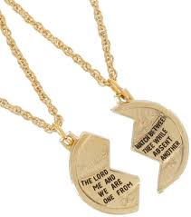 gold best friends necklace images Jewish coin necklace 1336 23 jewelry gifts and gift sets jpg