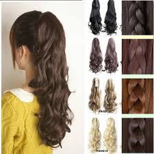hair clip poni aliexpress buy new style thick hair wavy curly ponytail
