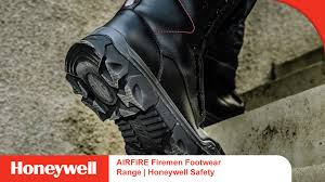 Firefighter Three Boots by Airfire Firemen Footwear Range Honeywell Safety Youtube