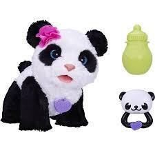 furreal friends pom pom baby panda pet walmart kayden