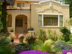 small front yard landscaping ideas hgtv