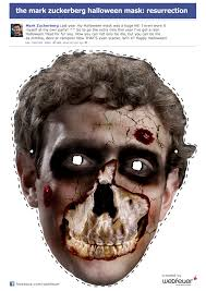 the mark zuckerberg halloween mask resurrection die social