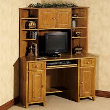Computer Corner Armoire Corner Armoire Computer With Hutch Derektime Design Guide To