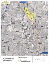 Portland Bike Map by State Route 109 Portland Bypass Tn Gov