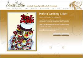 wedding cake websites sweetcakes wedding cakes website purple dog design