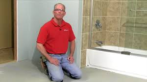 how to lay tile install a ceramic tile floor in the bathroom