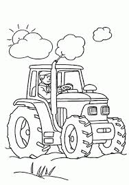 tractor coloring pages caillou coloring pages free kids coloring