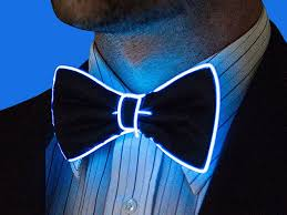 light up bow tie light up bow tie bringing on the glitz technabob