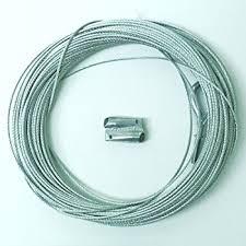 amazon com galvanized steel cable guide wire 110 ft
