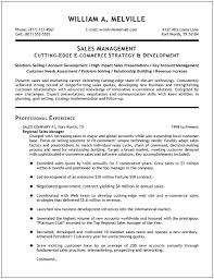 sales resume templates sales manager resume template experience resumes
