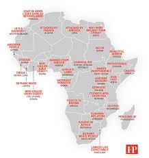 Ivory Coast Map Map China U0027s Stereotypes Of Africa From U0027chaotic U0027 Somalia To