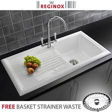 Ceramic Kitchen Sinks Ceramic Sinks EBay - Ceramic kitchen sink