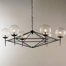 Modern Cheap Chandeliers Modern Pyramid Glass Globes Chandelier Shades Of Light