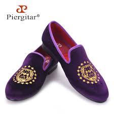 Purple Color Aliexpress Com Buy Piergitar New Purple Color Velvet Men