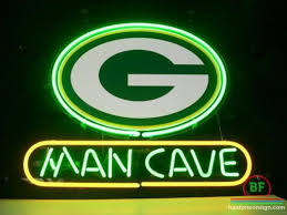 green bay packers lights man cave green bay packers neon sign nfl teams neon light sports