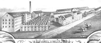 Lowell Massachusetts Map by Women In Lowell Mills