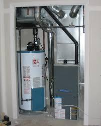 Small Bedroom Gas Heaters Closet Furnace Installation