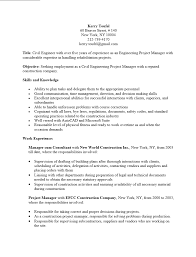 Pmp Resume Engineering Project Manager Resume Sample Free Resume Example