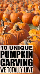 10 unique pumpkin carving ideas your kids will love