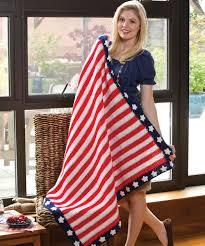 American Flag Bed In A Bag 20 Of America U0027s Favorite Patriotic Crochet Afghan Patterns