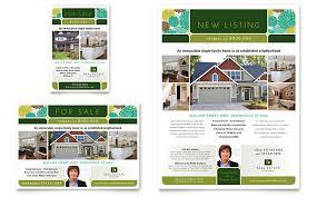real estate flyer u0026 ad template design