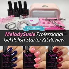 melodysusie gel polish starter kit review u2013 chickettes soak off
