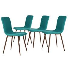 chaise turquoise lot de 4 chaises turquoise