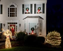 christmas lights in windows ideas christmas window candles with flameless candle lights for xmas