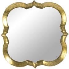 gold quatrefoil panel mirror 795 hnl liked on polyvore