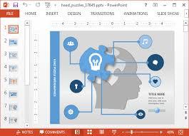map powerpoint template presentation magazine editable map