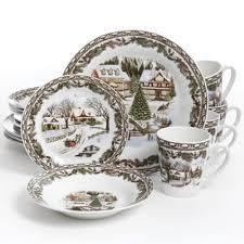 christmas dinnerware 16 christmas dinnerware set multicolor dinner dishes